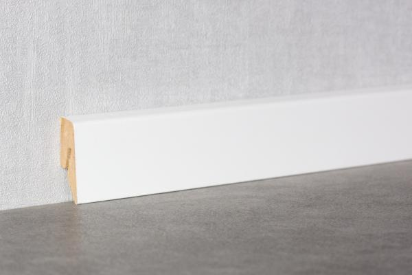 Sockelleiste 40 mm Cube | K40C | Weiß